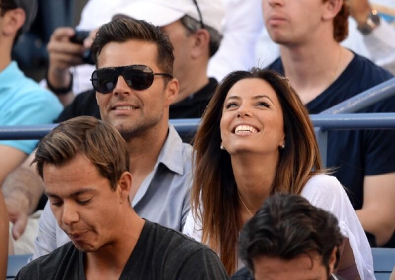 """La actriz que se ha vuelto fan de los deportes últimamente, siguió muy de cerca la pelea entre """"Canelo"""" Álvarez y Floyd Mayweather a través de su Twitter."""