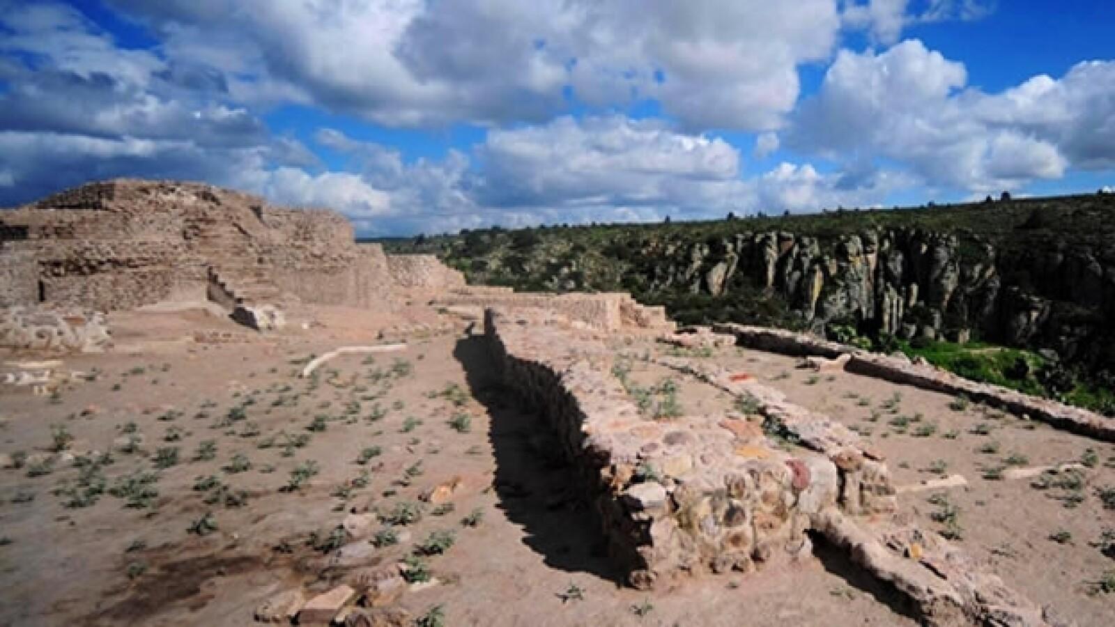 sitio arqueologico el coporo