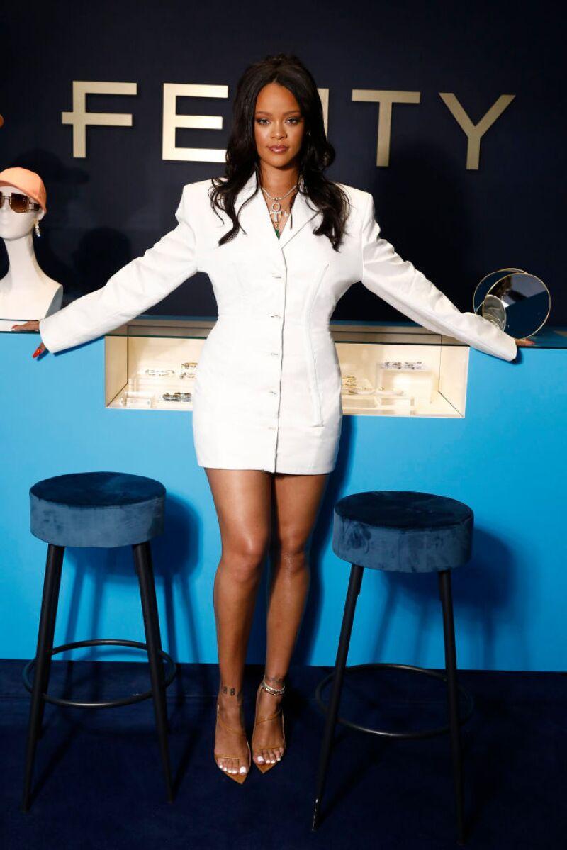 Rihanna hace historia en el mundo de la moda