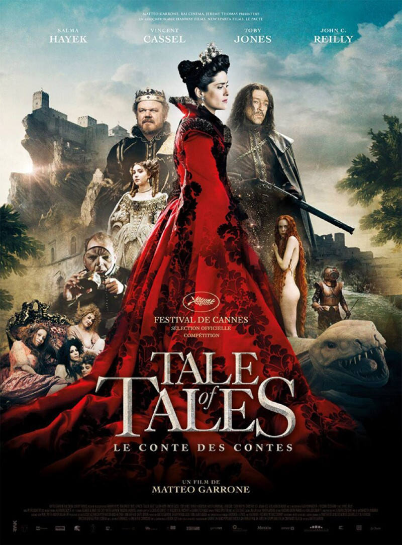 Mórbido presentará Tale of Tales con Salma Hayek.