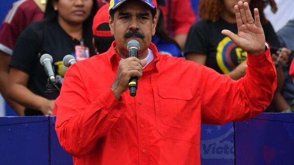 VENEZUELA-CRISIS-MADURO-SUPPORTERS