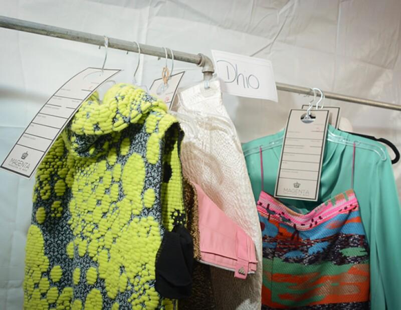 Sandra Weil presentó una colección con mucho color y textura.
