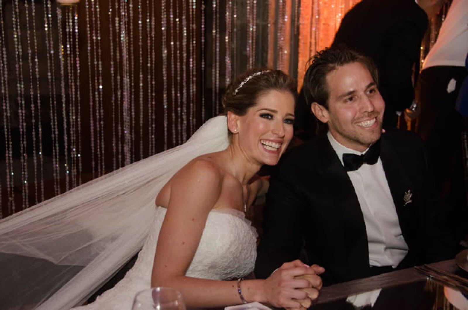 El noviazgo de la pareja duró cinco años.