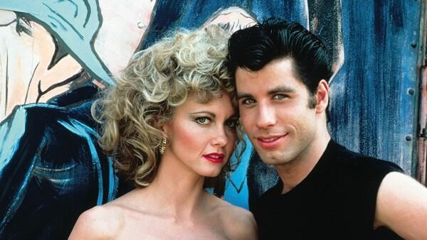 Olivia Newton John y John Travolta