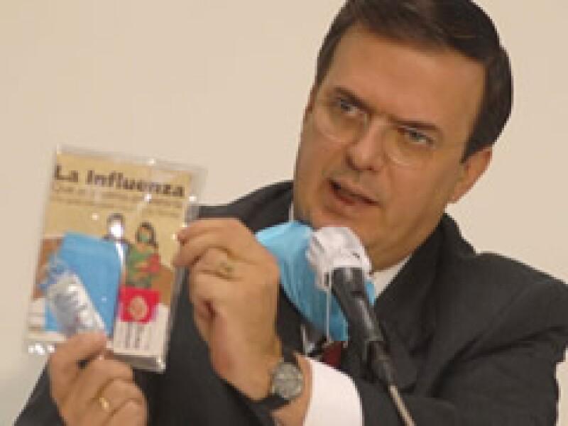Marcelo Ebrard, jefe de gobierno del Distrito Federal. (Foto: Archivo NTX)