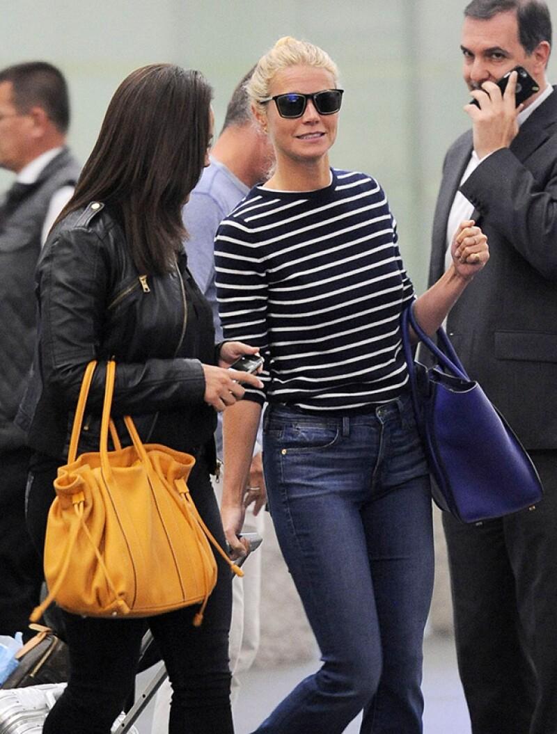 La actriz y cantante estadounidense está en la ciudad de México para ser parte de un evento de moda.