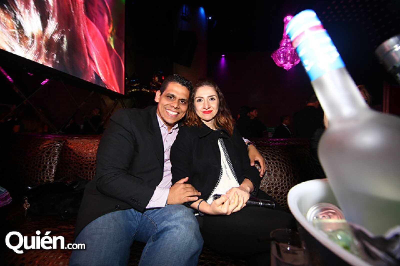 José Luis Islas y Paola Delgado