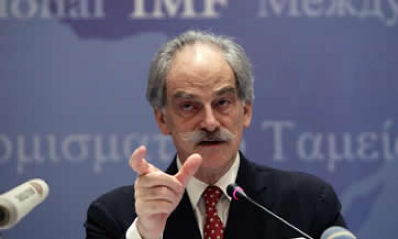 Lipsky declaró que los países de la zona euro están preocupados por la posibilidad de que la crisis se propague a los países centrales. (Foto: Reuters)