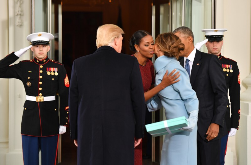Michelle Obama y Melania Trump