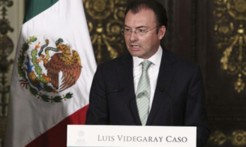 Luis Videgaray dijo que los efectos del gasto público se observarán hacia el segundo trimestre del año. (Foto: Notimex)