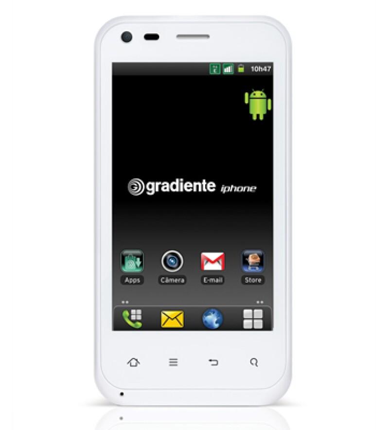 El iphone brasileño utiliza el sistema Android y cuesta unos 302 dólares. (Foto: AP)