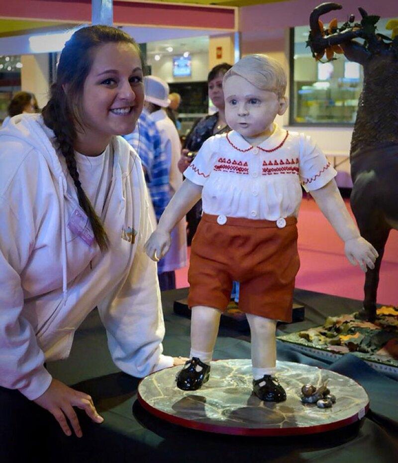Si creías que el hijo del príncipe William y Kate Middleton no podía ser más dulce, es porque no habías visto su versión hecha pastel.
