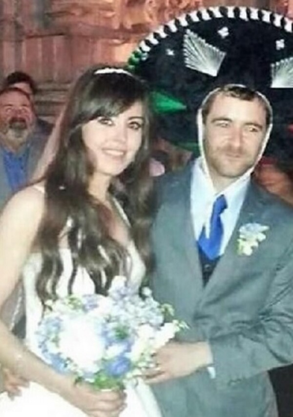 Erika se casó hace dos años en San Miguel de Allende.