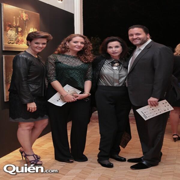 Marisa Madero, Cristian Keller, Pepita Serrano, José Manuel García