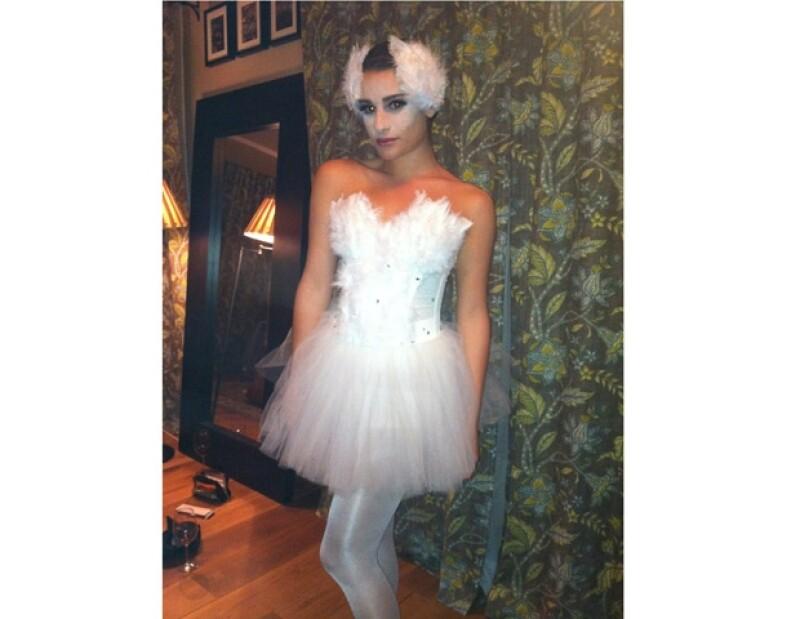 La estrella del programa de televisión 'Glee', atrajo todas las miradas por su gran parecido a la protagonista de Black Swan, Natalie Portman.
