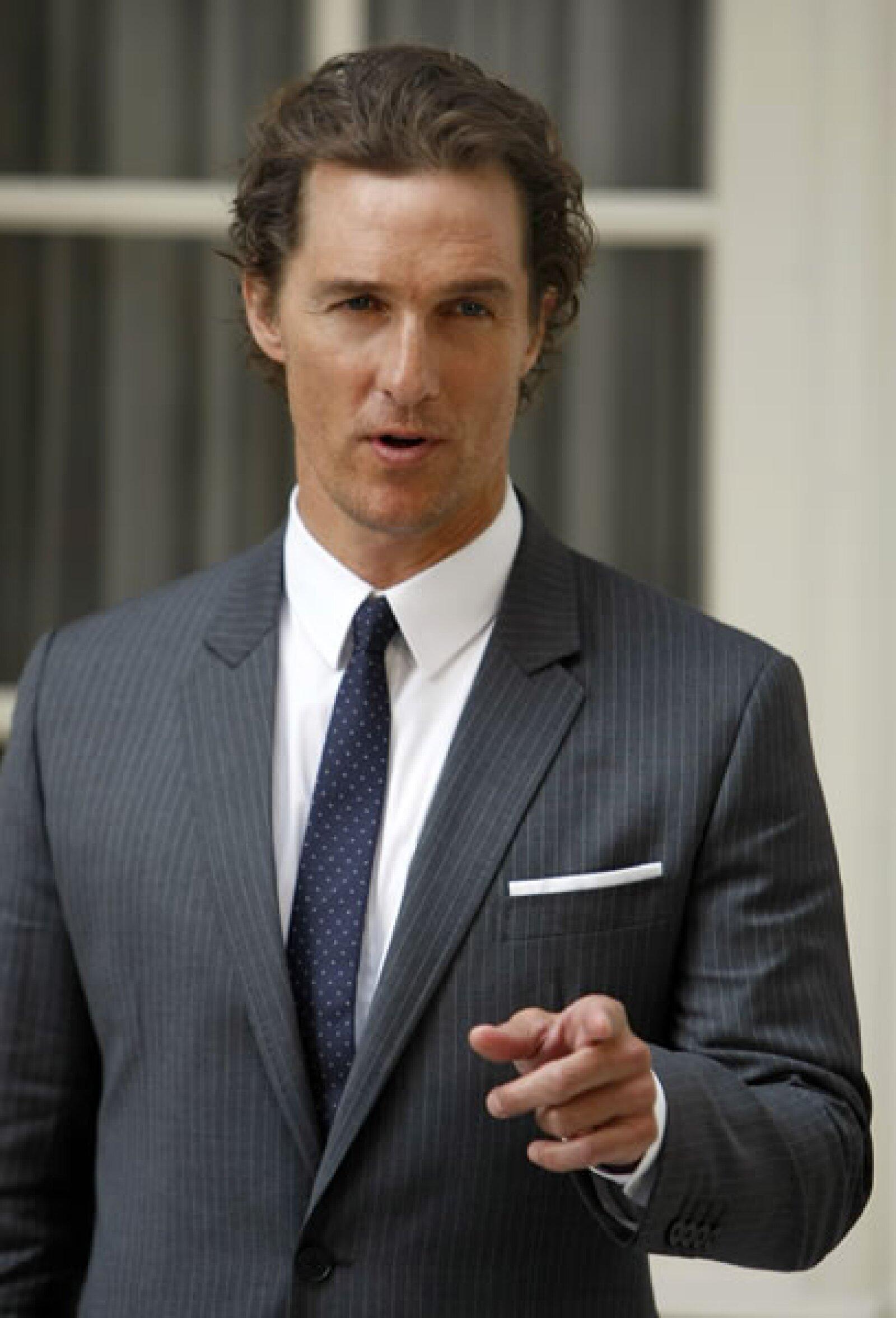 Aunque en pantalla es todo un galán, se comenta que Matthew McConaughey no es nada agradable con sus fans y se molesta si le piden autógrafos.