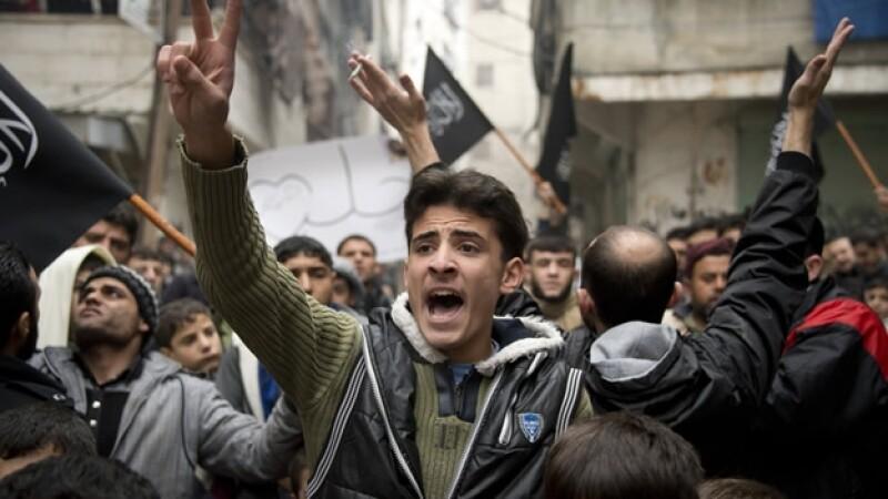 siria manifestación