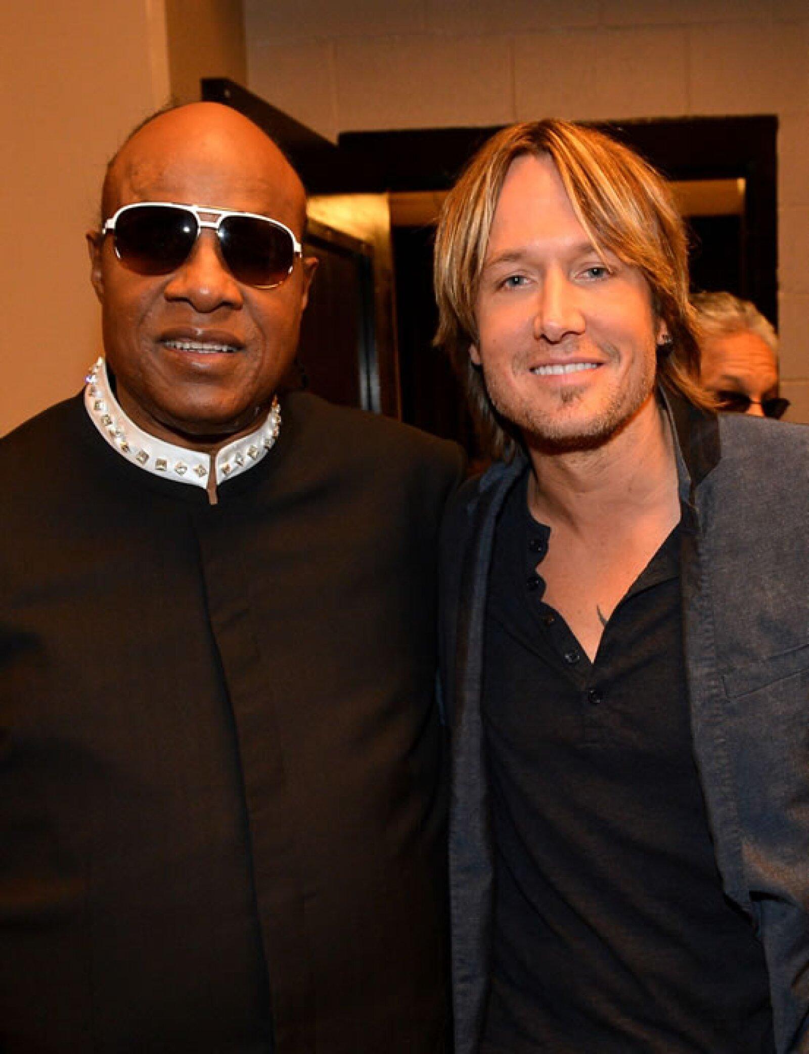 Stevie Wonder, Keith Urban