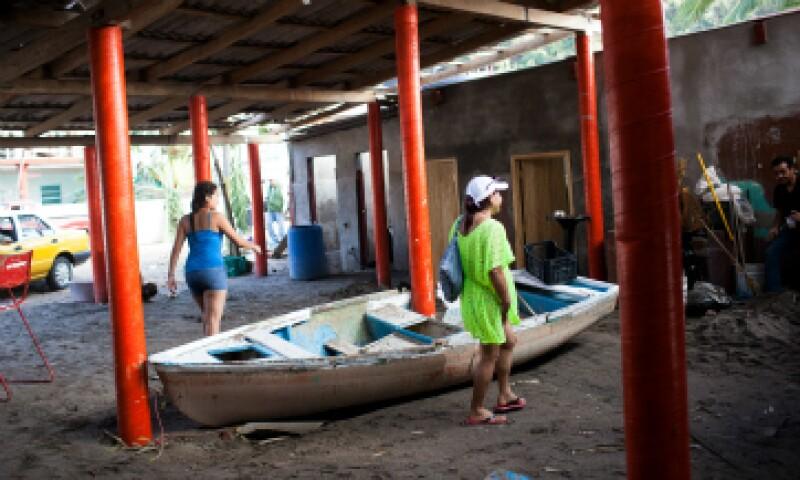 El huracán 'Patricia' dejó menos daños de los anticipados en las costas de Jalisco y Colima.  (Foto: Getty Images)