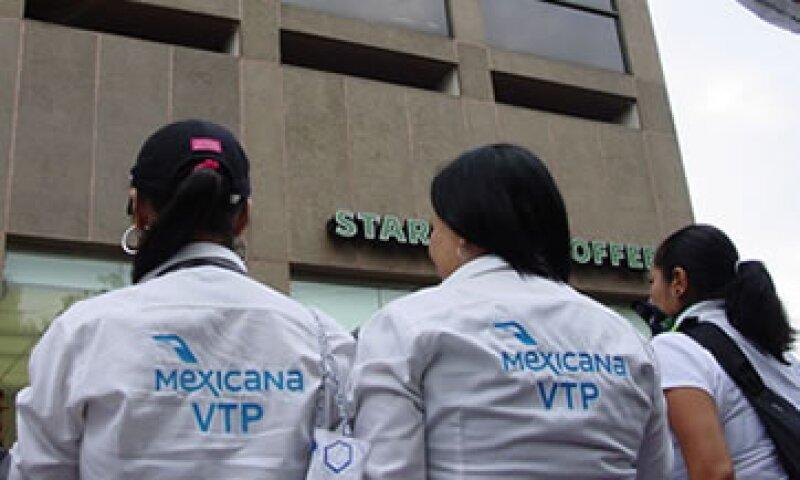 Mexicana de Aviación lleva casi año y medio en busca de un inversionista. (Foto: Notimex)