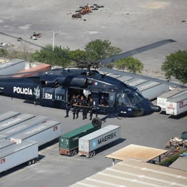 Policía Federal Monterrey
