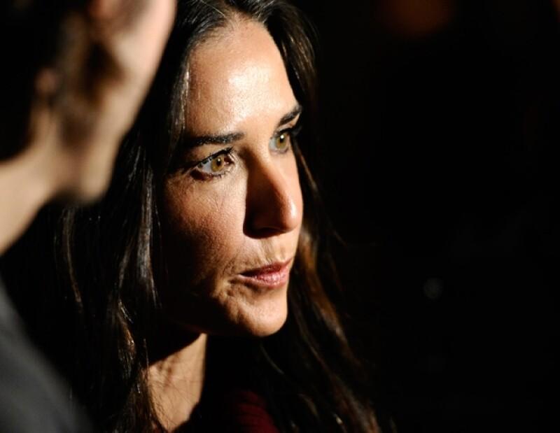 La popular actriz estadounidense no ve llegar la luz luego de que anunciara su divorcio de Ashton Kutcher, pues ha vivido el trimestre más difícil de su vida.
