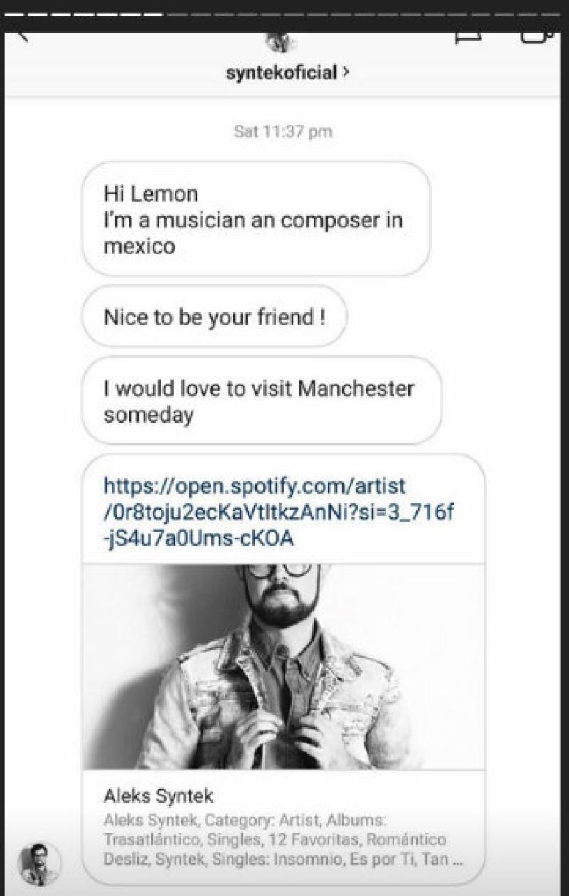 Screen Shot de la cuenta de Lemon Brick