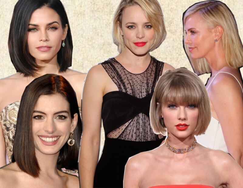 Jenna Dewan Tatum, Rachel McAdams, Charlize Theron, Anne Hathaway y Taylor Swift rockean este estilo.
