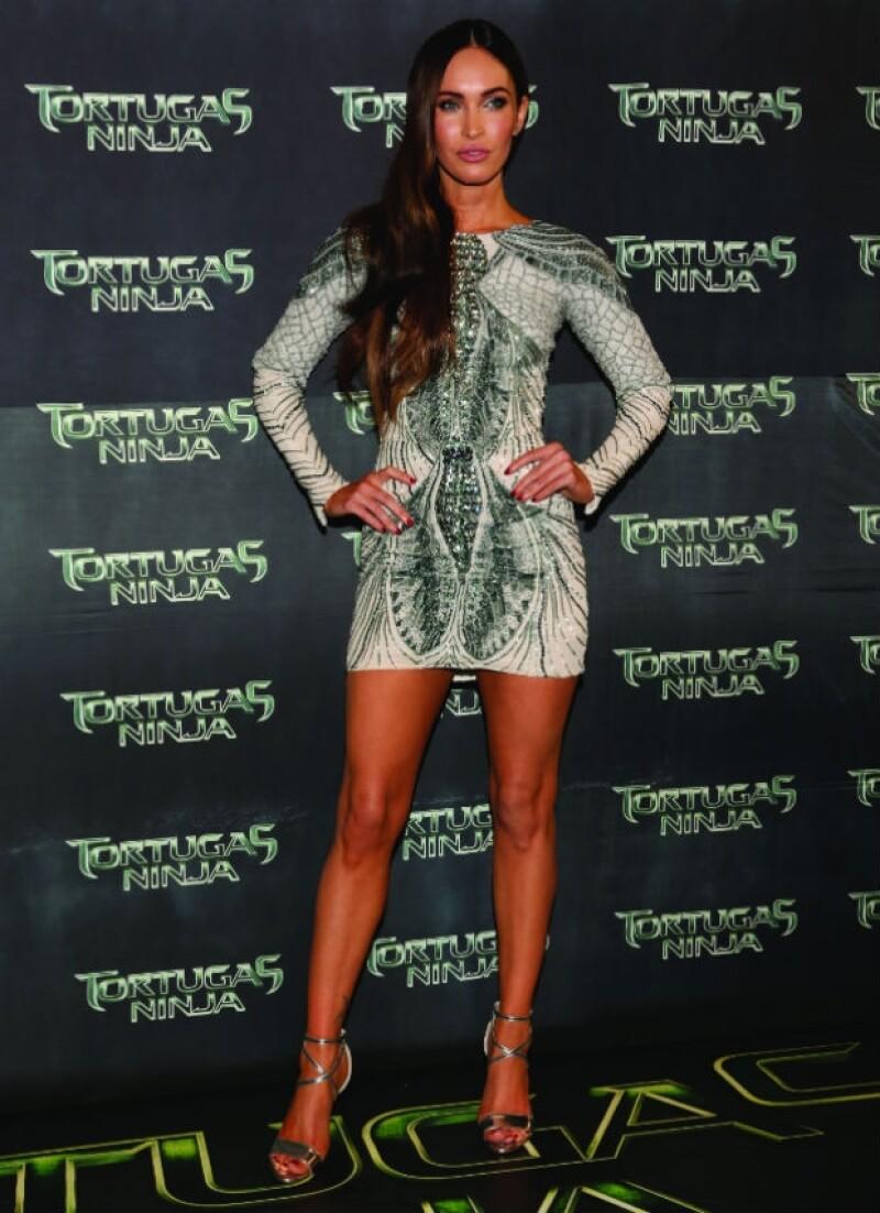 Megan Fox luce una figura perfecta después de ser madre de dos hijos.