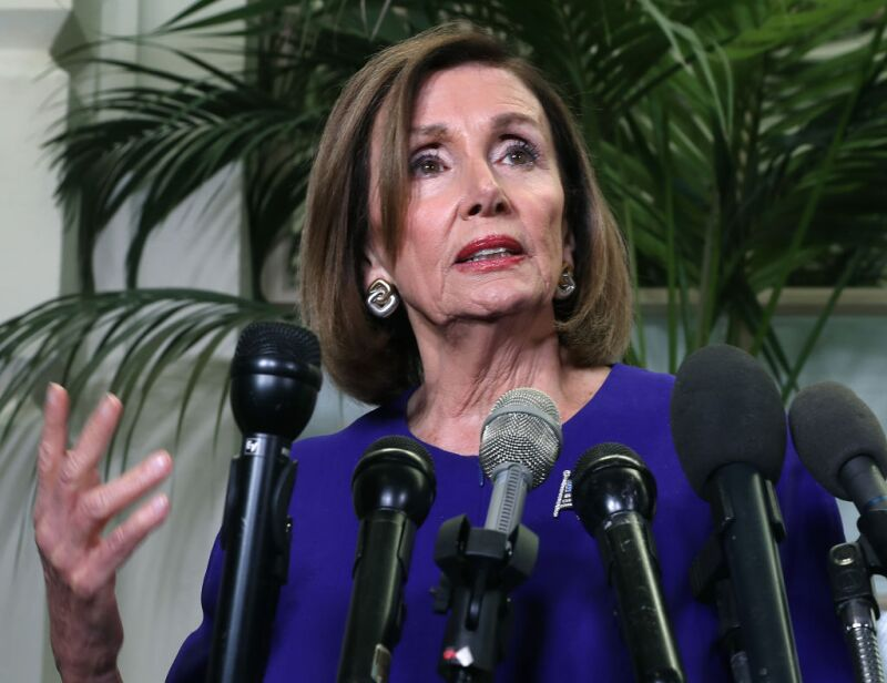 House Democrats Meet To Discuss Possible Impeachment Proceedings