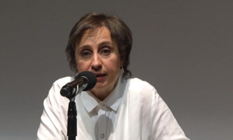 MVS informó el domingo 15 el despido de Aristegui. (Foto: Cuartoscuro )