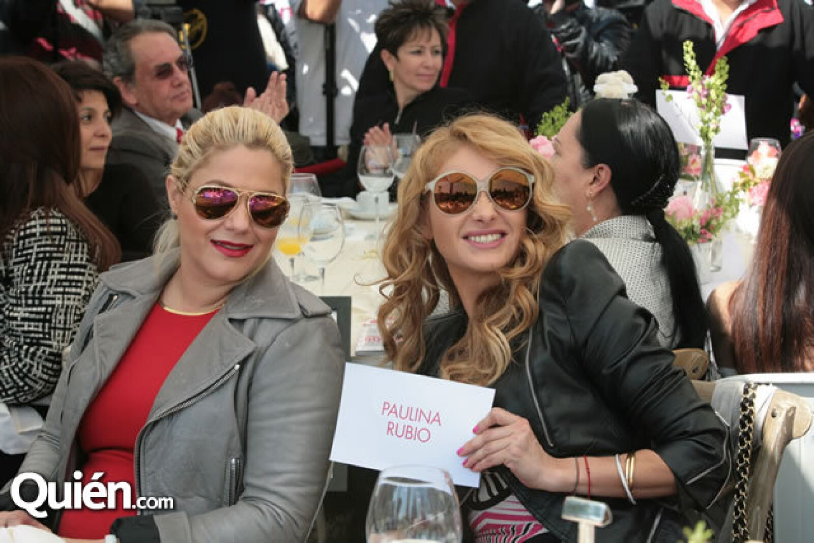 Liliana Sada y Paulina Rubio