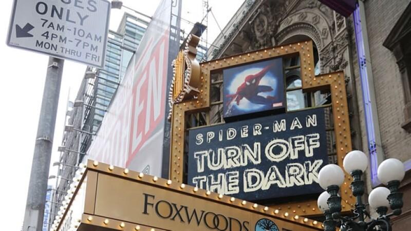 Spiderman Broadway