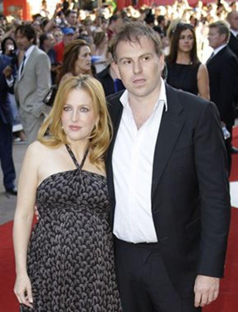 """La protagonista de """"Los Expedientes Secretos X"""" tuvo un varón con su novio Mark Griffiths."""