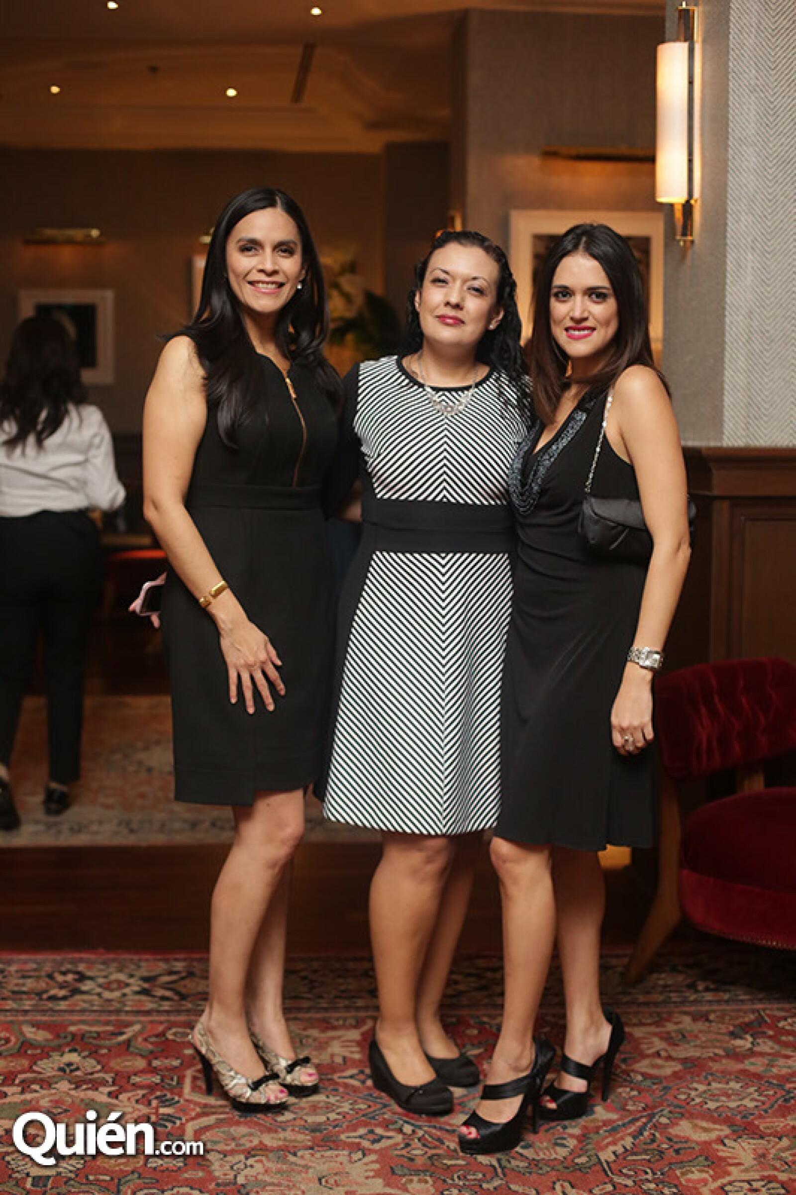 Diana Ortiz,Isela Monroy y Paola Amador