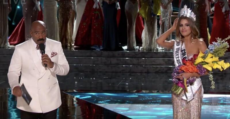 Steve Harvey finalmente habla después de cometer el error de anunciar a la ganadora equivocada del certamen de belleza. ¿Qué fue lo que dijo?