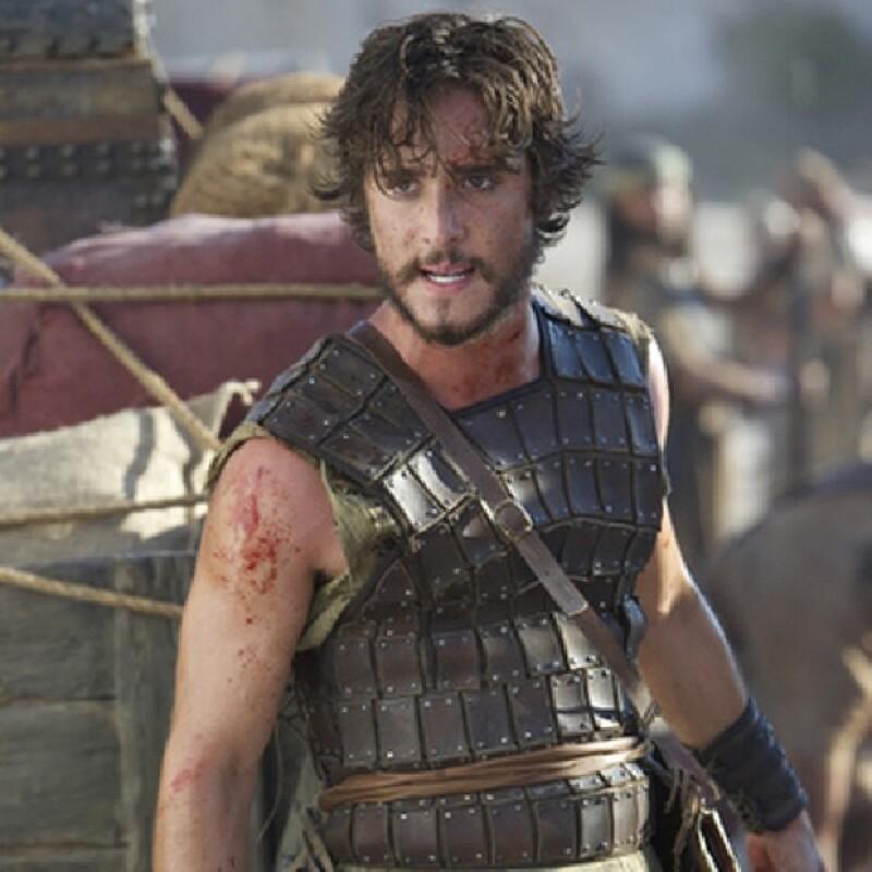 La barba de Diego es obligatoria para su papel en Dovekeepers.