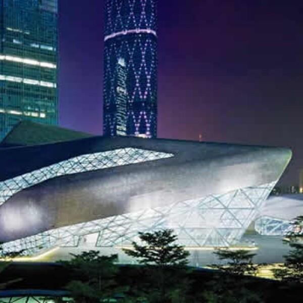 La inspiración de la arquitecta iraquí es paisaje milenario de China y el bel canto.