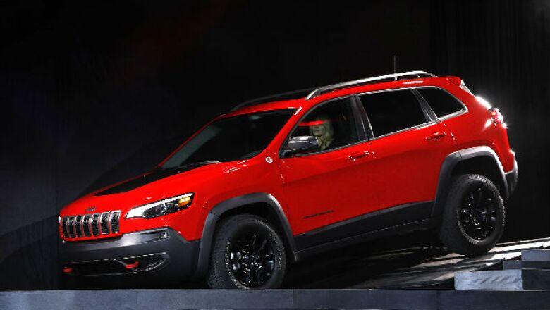 Auto Show Jeep Cherokee
