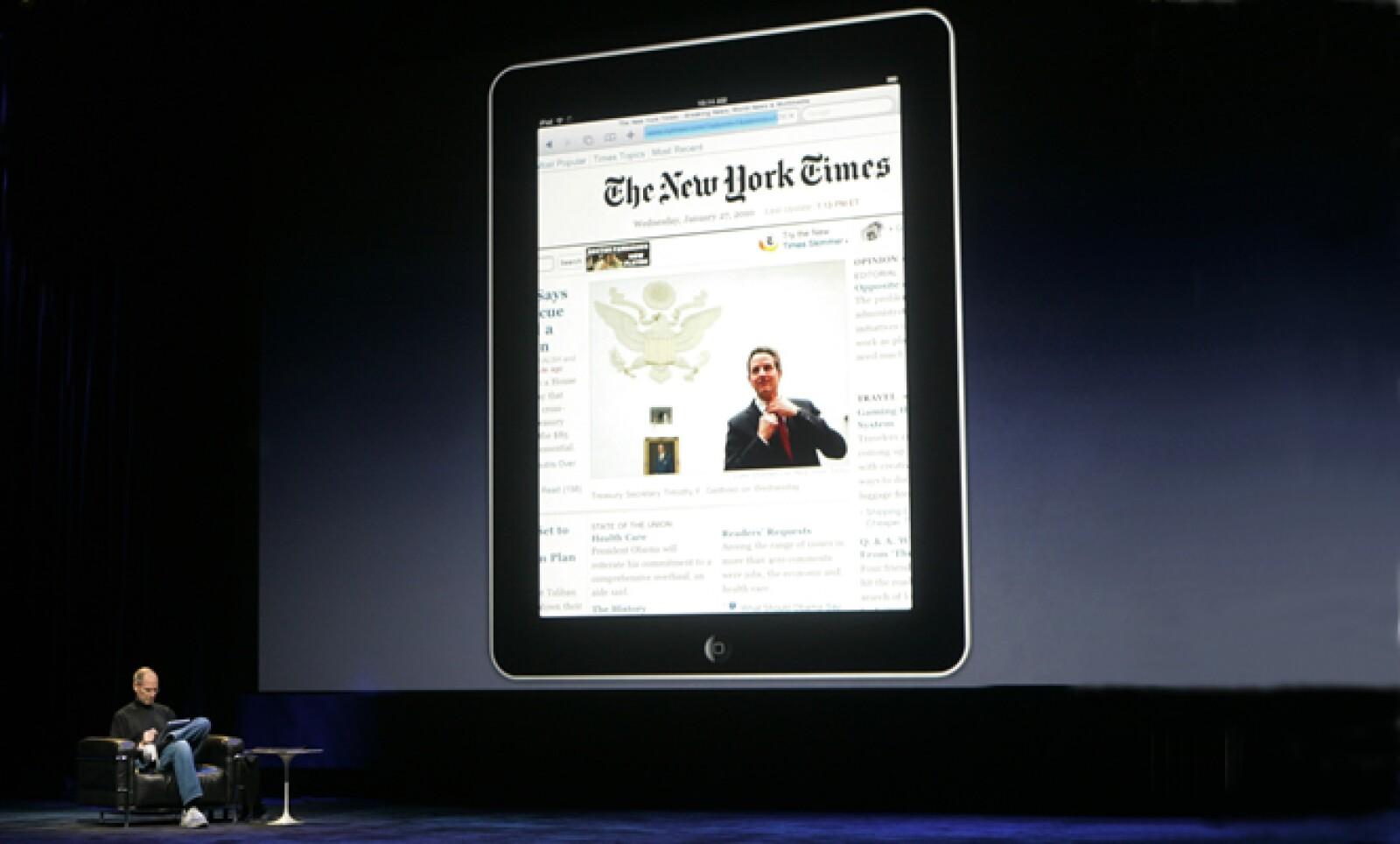 El aparato tecnológico, iPad, será vendido y distribuido por Apple con opción a servicios de enlace de datos 3G con AT&T por 29.99 dólares por cuetión de datos e internet ilimitados.