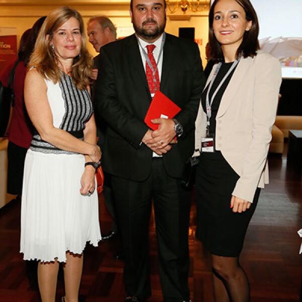 Michal Ron,Jenaro Laris y Eva Martín