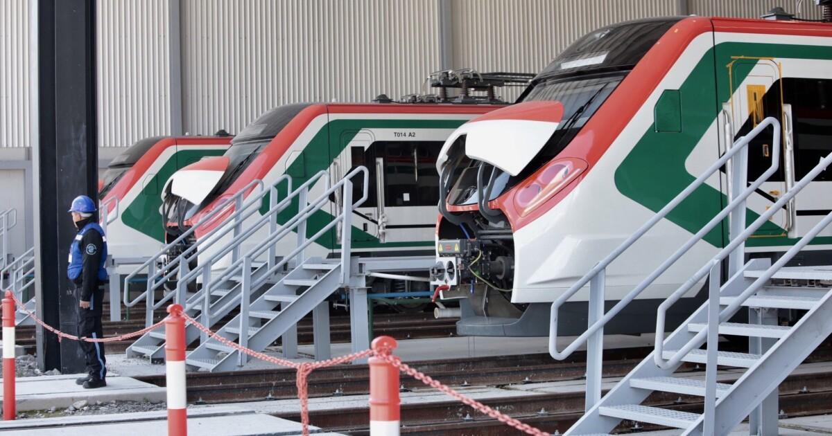El Tren Suburbano a Santa Lucía se quedará con 10 carros del Tren México-Toluca