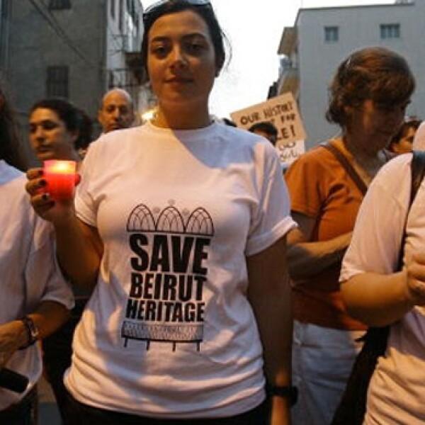 Beirut - Salvan el patrimonio