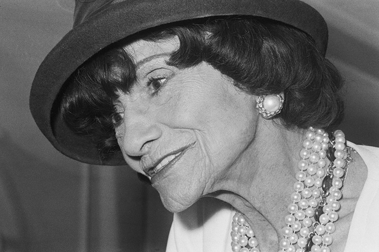 French Fashion Designer Coco Chanel