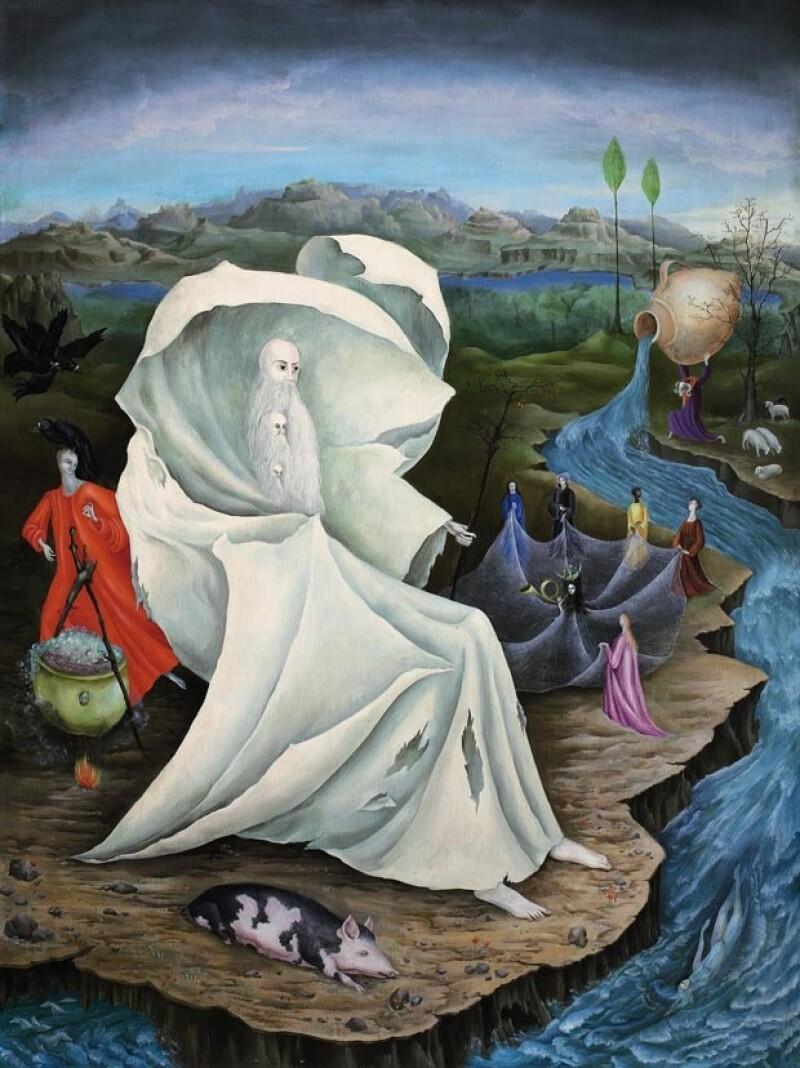 """The Temptation Of St. Anthony"" de Leonora Carrington."