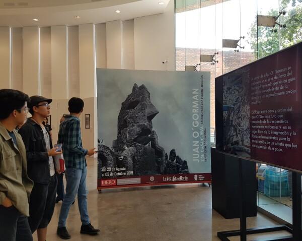 Casa-Cueva O'Gorman expo