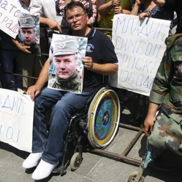 Mladic - muestras de apoyo