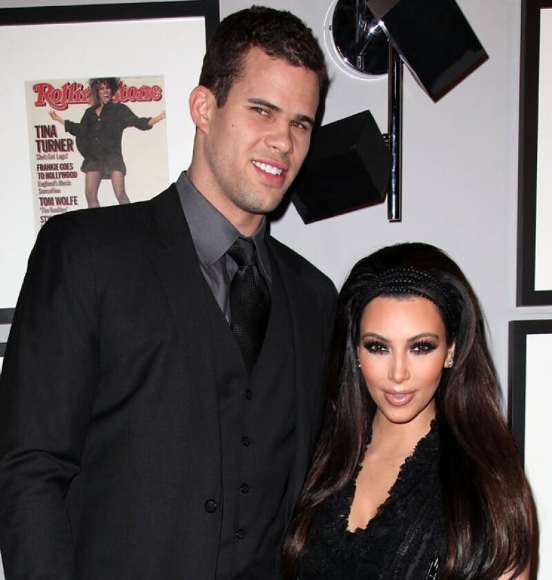 Kim y Kris en 2011, año en el que se conocieron.