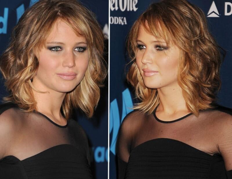 La actriz acudió este sábado a la entrega de los premios GLAAD 2013 luciendo el pelo más corto, en un estilo similar al demoninado `corte del año´por The New York Times.