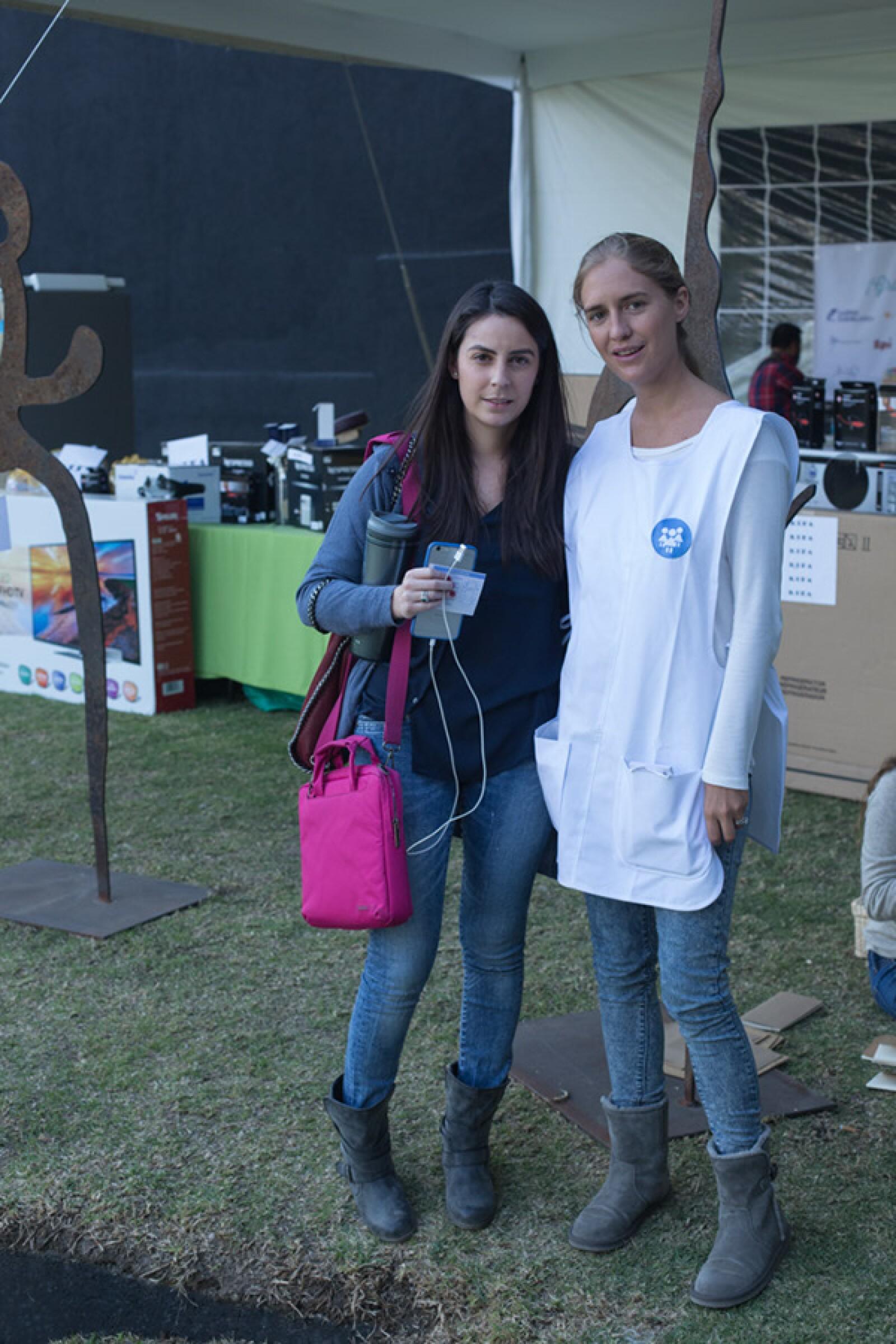 Mariel Kennedy y Elena Arrangois
